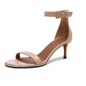 Givenchy Blush/Pink Nadia Leather Sandals 36.5
